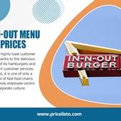In-n-out Menu Price